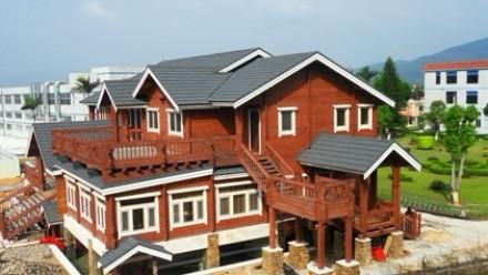 超大型轻重结合型木屋